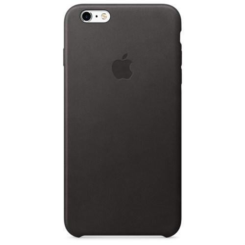 Apple iPhone 6S Plus İçin Deri Kılıf Siyah