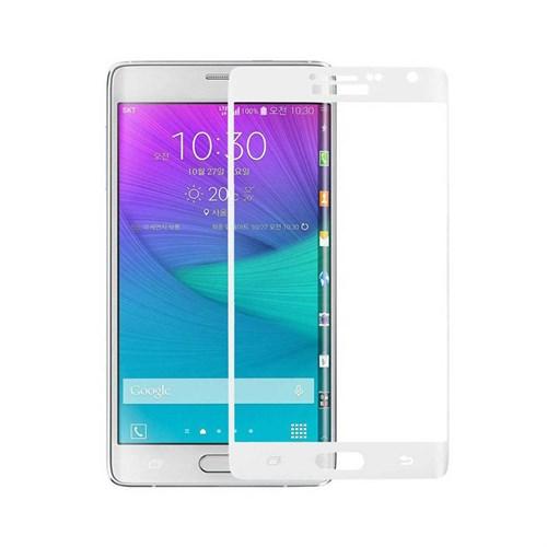 Cep Market Samsung Galaxy Note Edge Cam Kırılmaz Temperli Kavisli - Beyaz