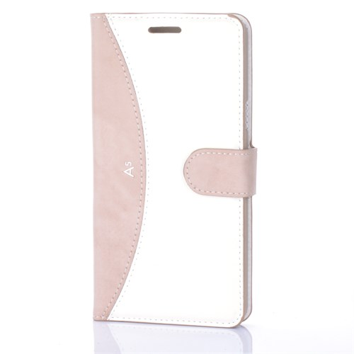 Cep Market Samsung Galaxy A5 2016 Kılıf - A510 Kapaklı Cüzdan Kartvizitli - Gold
