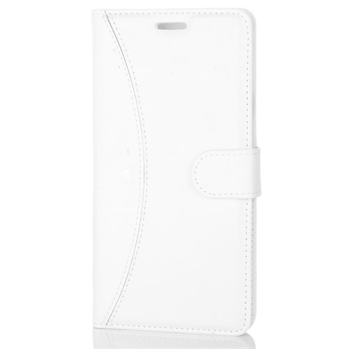 Cep Market Samsung Galaxy A7 2016 Kılıf - A710 Kapaklı Cüzdan Kartvizitli - Beyaz