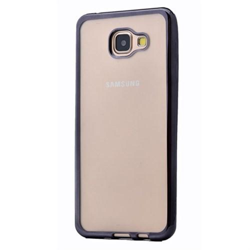 Cep Market Samsung Galaxy A5 2016 Kılıf A510 Silikon Lazer - Siyah