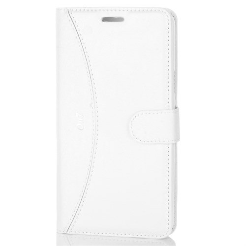 Cep Market Samsung Galaxy On7 Kılıf Kapaklı Cüzdan Kartvizitli - Beyaz