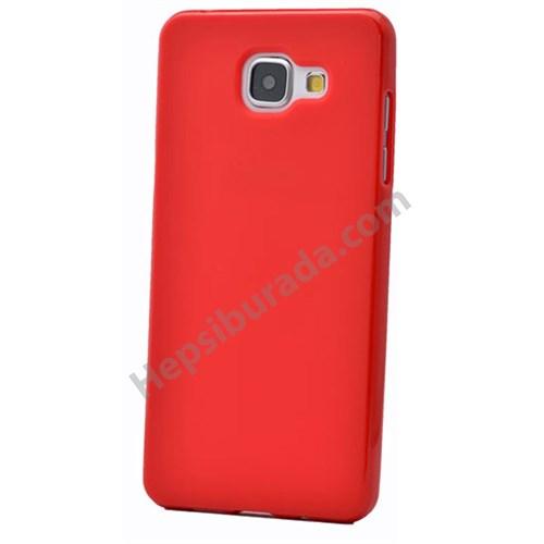 Fonemax Samsung A710 Galaxy A7 (2016) Soft Silikon Kılıf Kırmızı
