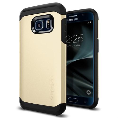 Spigen Samsung Galaxy S7 Kılıf Tough Armor Champagne Gold - 555CS20019