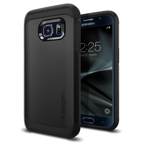Spigen Samsung Galaxy S7 Kılıf Tough Armor Black - 555CS20020