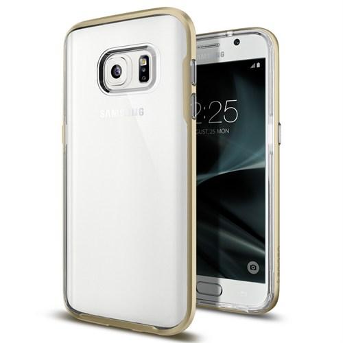 Spigen Samsung Galaxy S7 Kılıf Neo Hybrid Crystal Champagne Gold - 555CS20023