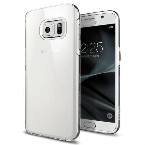 Spigen Galaxy S7 Kılıf Liquid Crystal 4 Tarafı Tam Koruma - 555CS20006