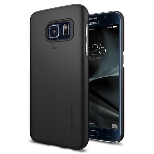 Spigen Galaxy S7 Kılıf Thin Fit Ultra İnce Black - 555CS20003