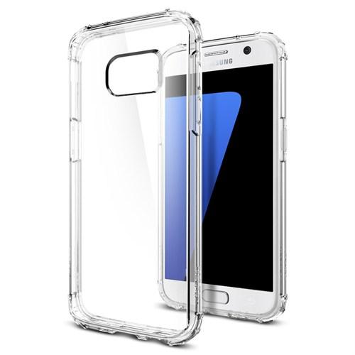 Spigen Samsung Galaxy S7 Kılıf Crystal Shell Crystal Clear - 555CS20011