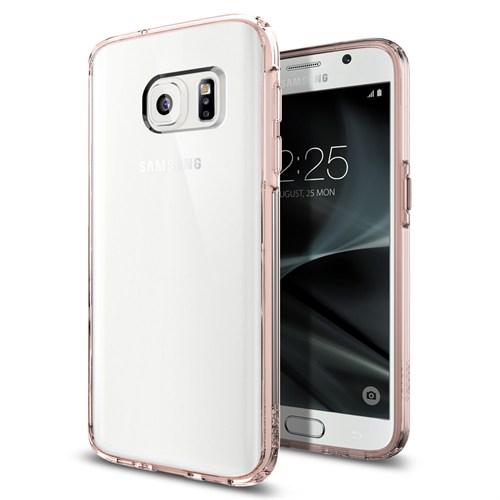 Spigen Samsung Galaxy S7 Kılıf Ultra Hybrid Rose Crystal - 555CS20010