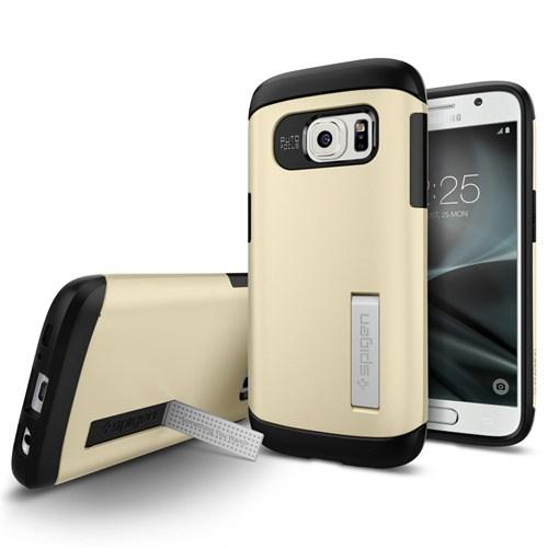 Spigen Samsung Galaxy S7 Kılıf Slim Armor Champagne Gold - 555CS20014