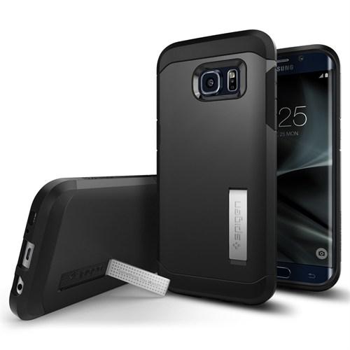Spigen Galaxy S7 Edge Kılıf Tough Armor Black - 556CS20045