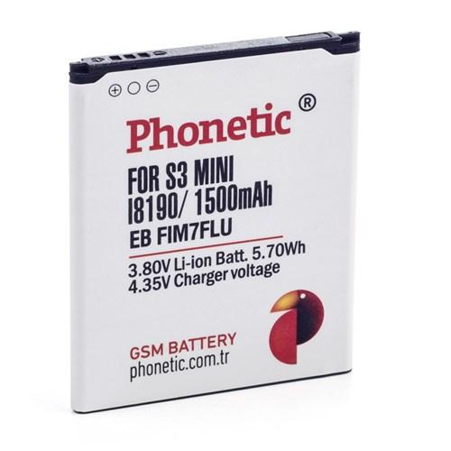 Phonetic Samsung S3 Mini İ8190/İ8200 Batarya Eb-L1m7flucstd