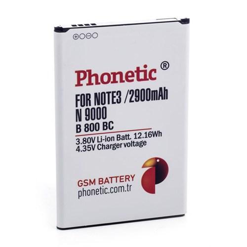 Phonetic Samsung Galaxy Note 3 N9000 Batarya Eb-B800bebecww