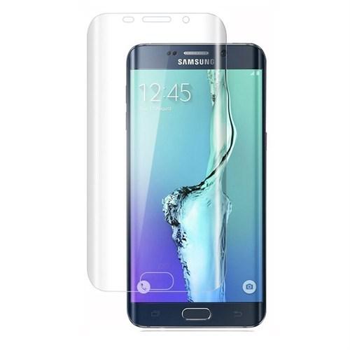 4Rmor Samsung Galaxy S6 Edge Kavisli Kırılmaz Cam Ekran Koruyucu