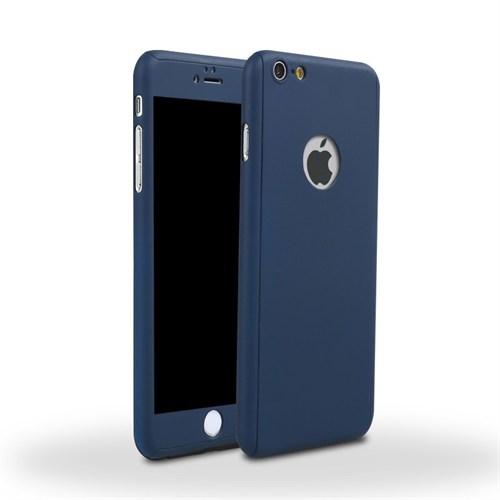 4Rmor İphone 6/6S Plus Kılıf 360 Derece Tam Koruma Lacivert