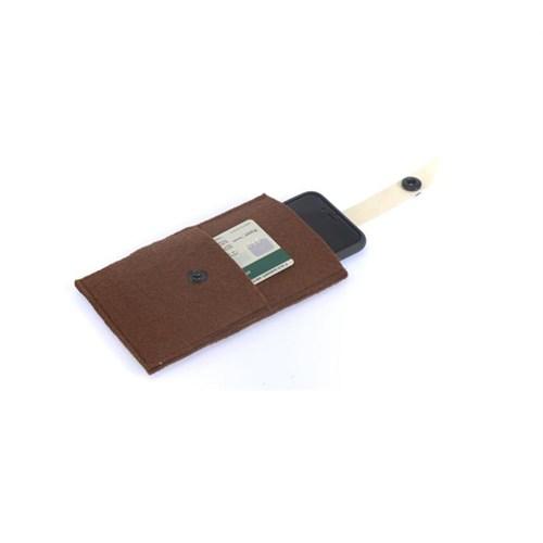 Orijinal Kulüp Akıllı Telefon Cüzdanı Kahverengi