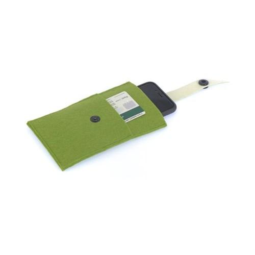 Orijinal Kulüp Akıllı Telefon Cüzdanı Haki Yeşil