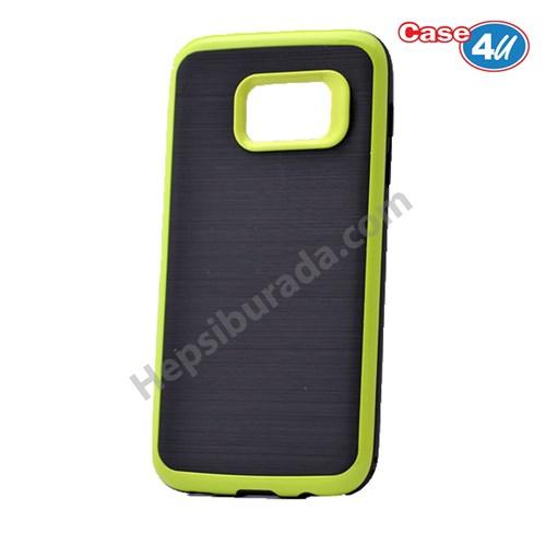 Case 4U Samsung Galaxy S7 Infinity Koruyucu Kapak Koyu Yeşil