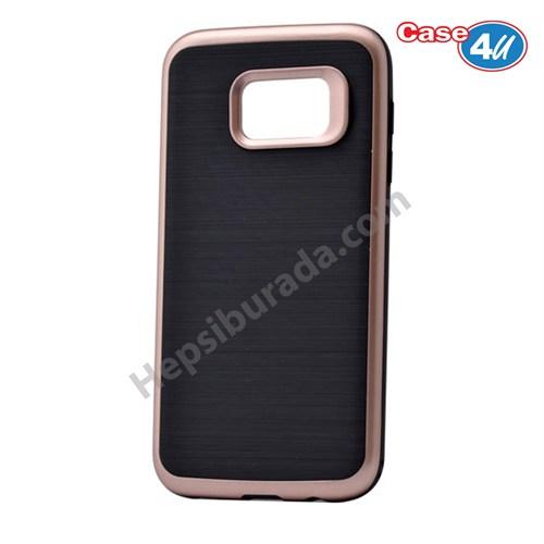 Case 4U Samsung Galaxy S7 Infinity Koruyucu Kapak Koyu Rose Gold