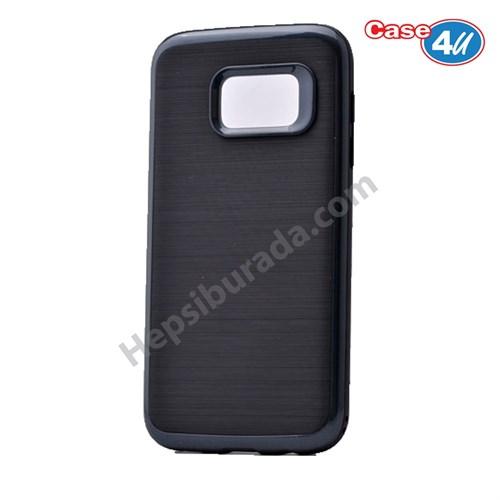 Case 4U Samsung Galaxy S7 Infinity Koruyucu Kapak Koyu Gri