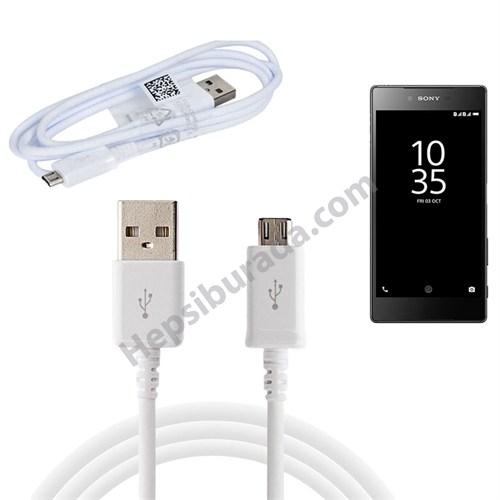 Fonemax Sony Xperia Z5 Premium Micro Usb Data Ve Şarj Kablosu