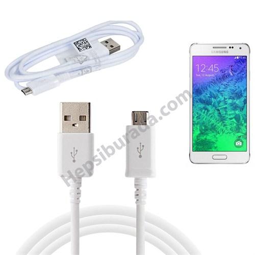 Fonemax Samsung Galaxy Alpha Micro Usb Data Ve Şarj Kablosu