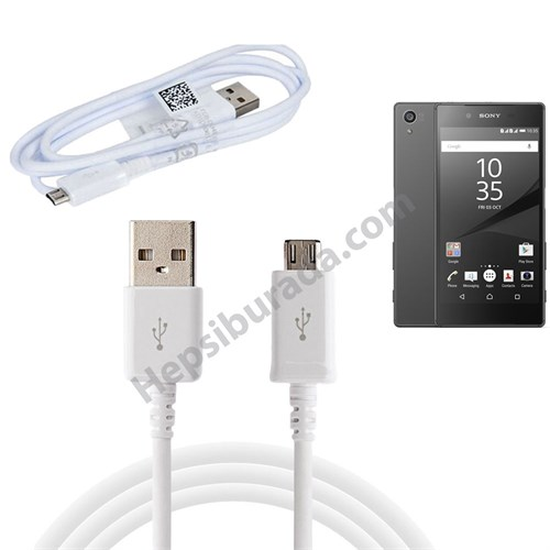 Fonemax Sony Xperia Z5 Micro Usb Data Ve Şarj Kablosu