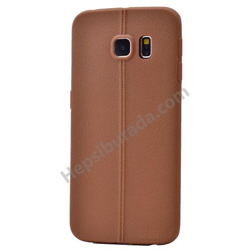 Fonemax Samsung Galaxy S6 Edge Desenli Silikon Kılıf