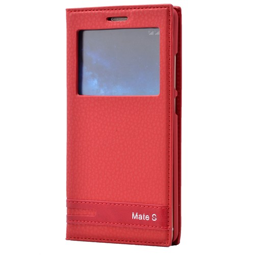 Fonemax Huawei Mate S Pencereli Kapaklı Kılıf