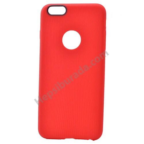 Fonemax Apple İphone 6 Çizgili Silikon Kılıf