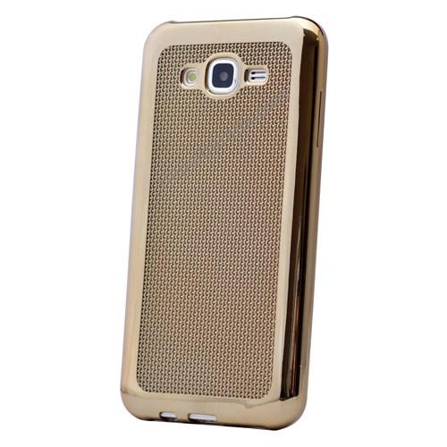 Fonemax Samsung Galaxy J2 Hasır Desenli Ultra İnce Silikon Kılıf