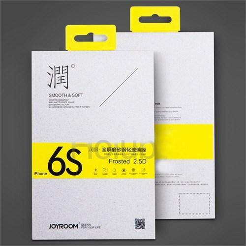 Joyroom İphone 6/6S Full Fit Mat Ekran Koruyucu Cam