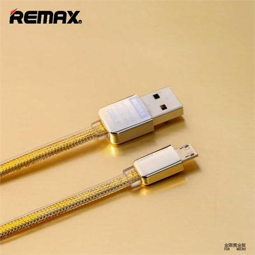 Remax Kingkong Micro Usb Şarj Data Kablosu-Gold
