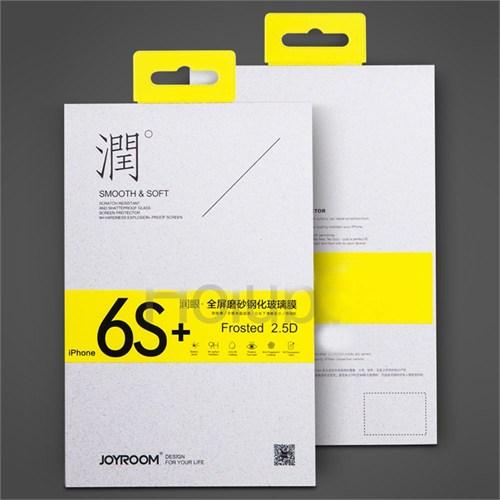 Joyroom İphone 6/6S Plus Full Fit Mat Ekran Koruyucu Cam