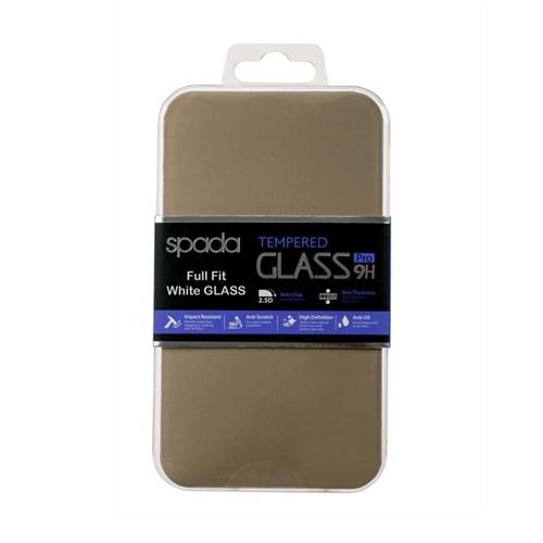 Spada Full Fit İphone 6/6S Temperli Beyaz Ekran Koruyucu Cam