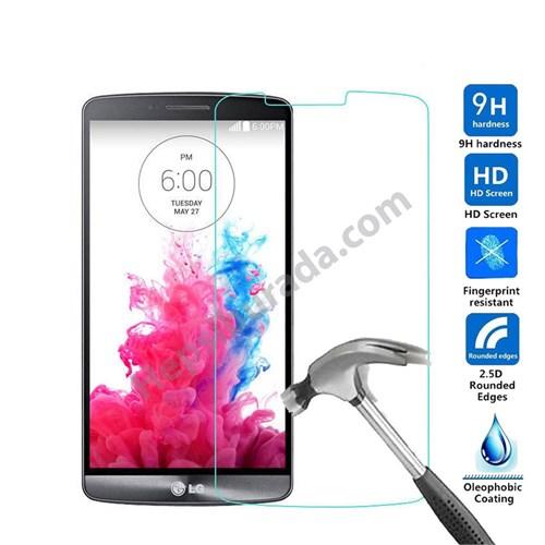 Fonemax Lg G3 Kırılmaz Cam Ekran Koruyucu