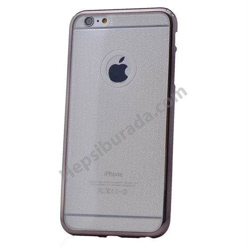 Fonemax Apple İphone 6S Plus Simli Silikon Kılıf