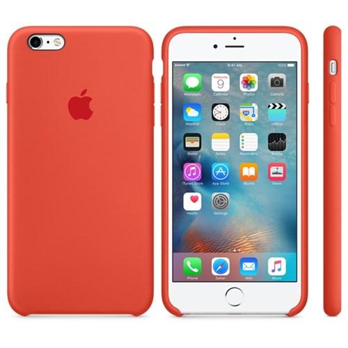 Apple iPhone 6/6S Plus Orjinal Silikon Kılıf (İthalatçı Garantili)