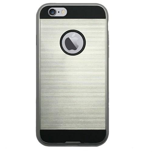 Melefoni İphone 6 6S Kılıf Sert Sağlam Silikon Arka Kapak