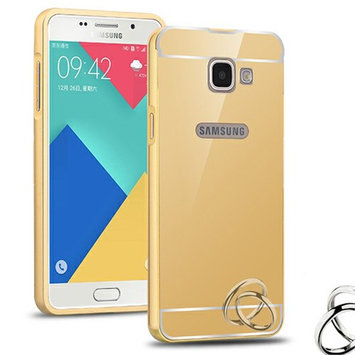 Microsonic Samsung Galaxy A5 2016 Kılıf Luxury Mirror Gold