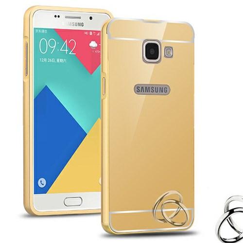 Microsonic Samsung Galaxy A5 2016 Kılıf Luxury Mirror Gold