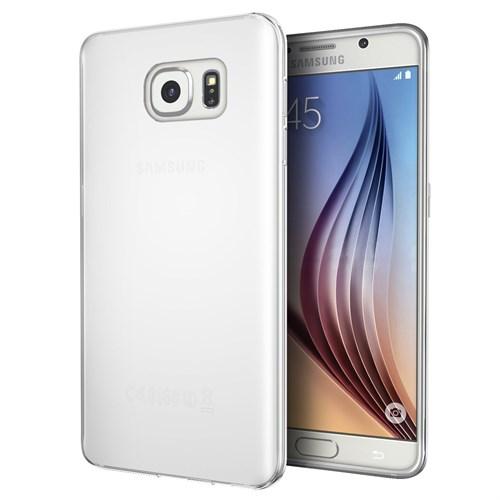 Microsonic Samsung Galaxy S7 Kılıf Transparent Soft Beyaz