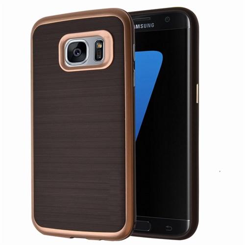 Microsonic Samsung Galaxy S7 Kılıf Slim Heavy Duty Gold