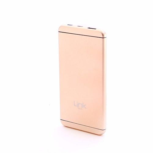 Link Tech 5000 Mah Powerbank Taşınabilir Şarj Cihazı Slim V5 Rose