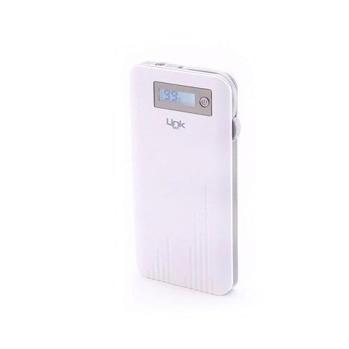 Link Tech 10000 Mah Powerbank Led Göstergeli Slim Sl 10 Beyaz