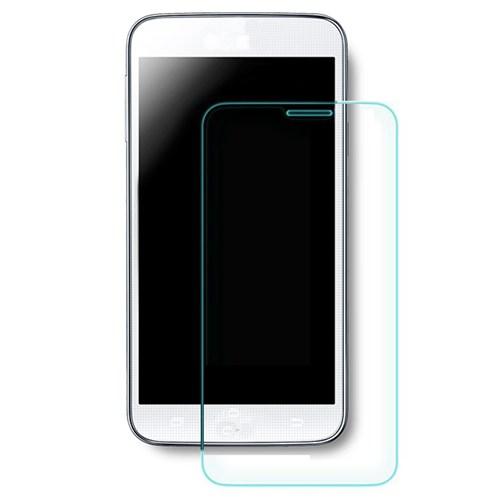 Volpawer General Mobile Discovery E3 Kırılmaz Cam Ekran Koruyucu + Şeffaf Silikon Kılıf