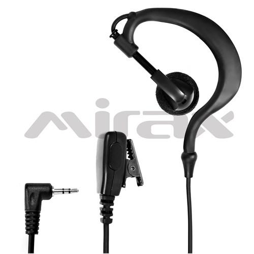 Mirax PMR Telsiz Kulaklığı, mikrofonlu, 2,5mm fiş, Aselsan Cobra MT-655/ MT-690/ MT-975 Uyumlu MT100-PC01