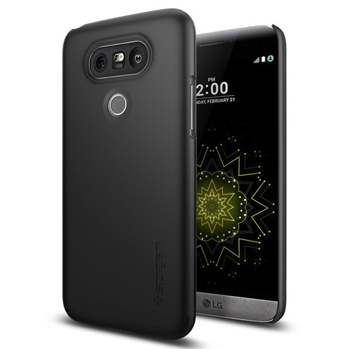 Spigen LG G5 Kılıf Thin Fit Black - A18CS20126