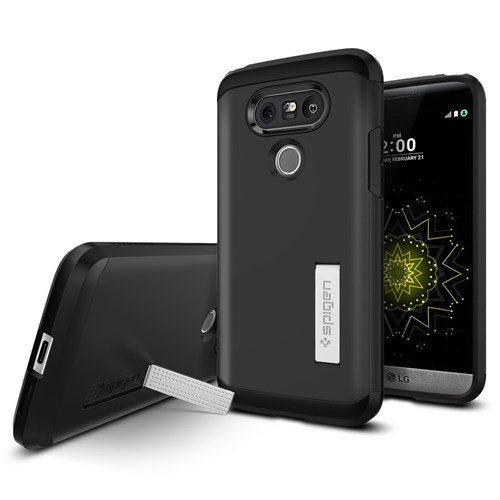 Spigen LG G5 Kılıf Tough Armor Black - A18CS20139